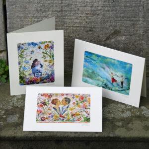 Hochzeit Kunstkarten