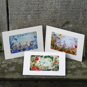 handgefertigte Kunstkarten