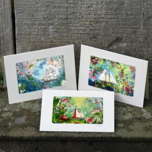 maritime Kunstkarten