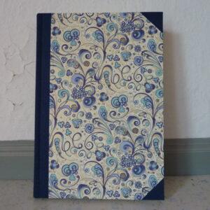 Notizbuch Din A5 mit italienischem Buntpapier