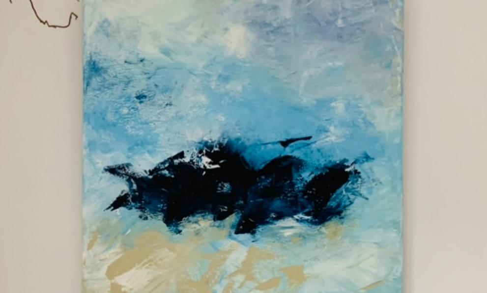 Acrylbild Blue Sky