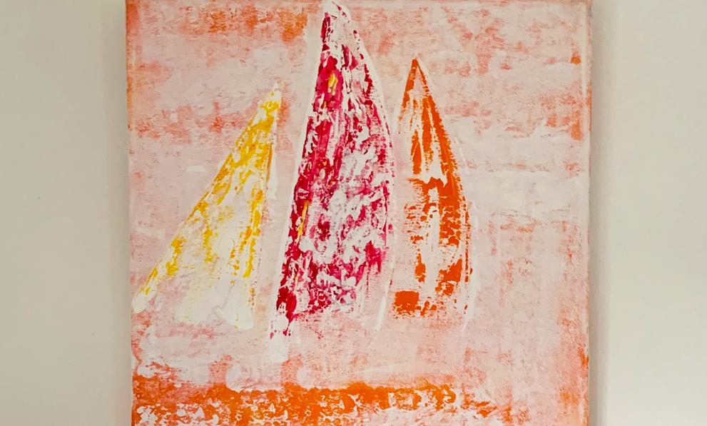 Acrylbild Sailing