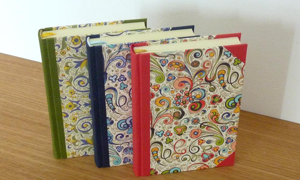 Buchbinderei Produkte Notizbücher