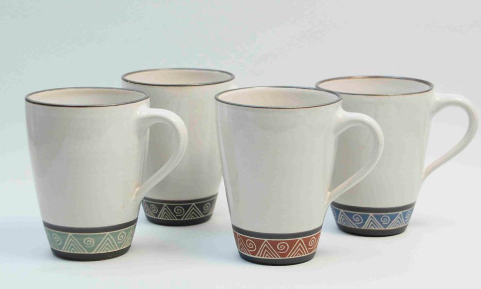 Steingut Geschirr Kaffeebecher