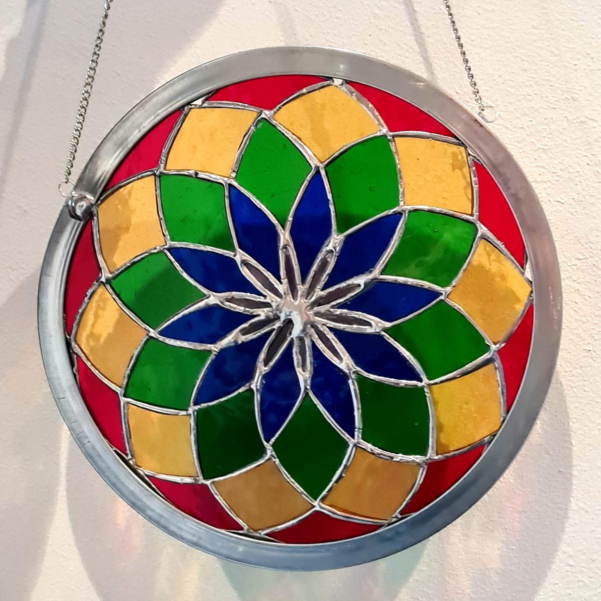 Tiffany Glaskunst Mandala