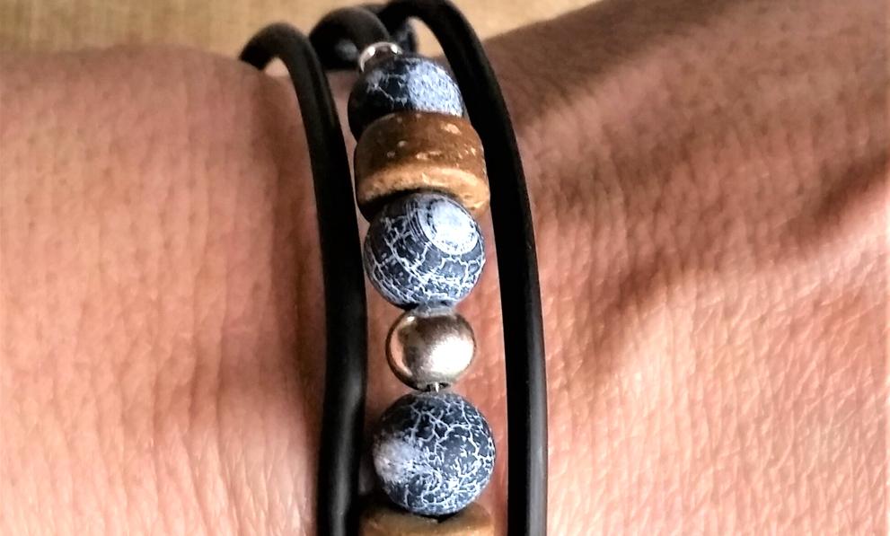 Geschenke Frauen: Wickelarmband