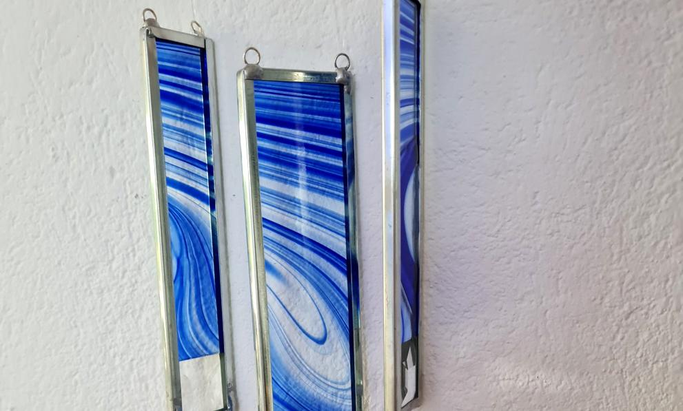 Deko shoppen: Windspiel aus Glas