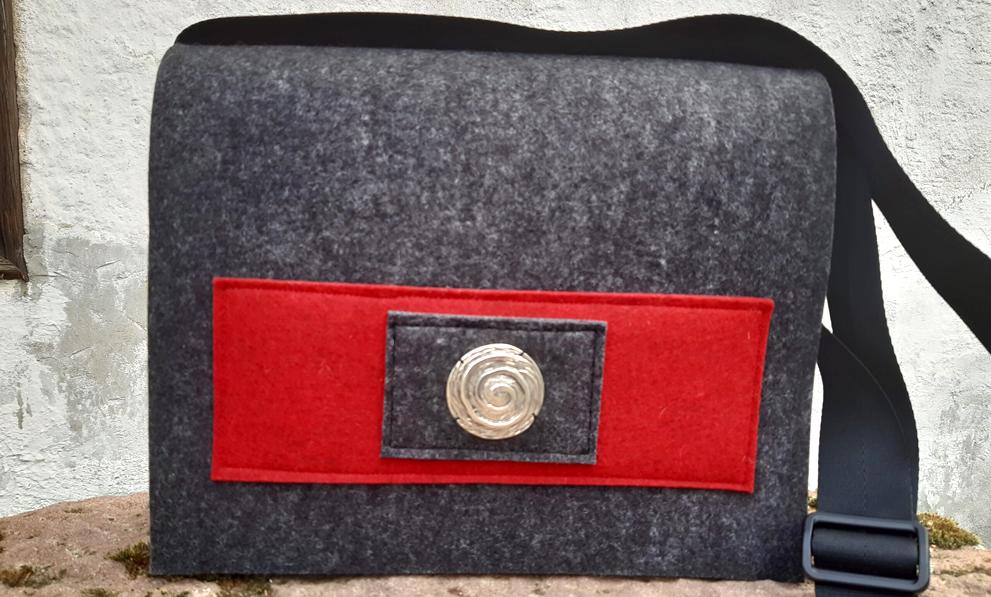 handgemachte Taschen Filztasche