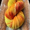 Handgefärbte Wolle Strang 100g